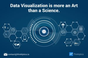 Data Visualization Tools help to understand Statistics easily by developing the best output presenting the data through art.